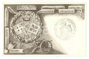 1917 WW1 8° Reggimento Artiglieria Campagna *Rara