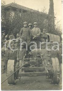 1917 Isonzo Genio Zappatori (?) *Ufficiali e fanti