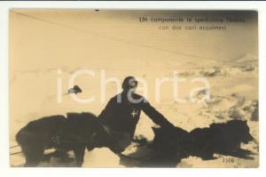 1928 Componente Spedizione Nobile e Cani Esquimesi