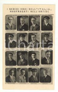 1928 POLO NORD, Gen. Nobile - Dirigibile ITALIA