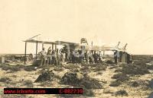 1915 conquista Libia ? incidente aereo biplano Caproni