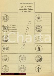 1953 - PCI, Propaganda elezioni politiche