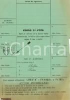 1950 Novara - Come si vota DC, Scalfaro