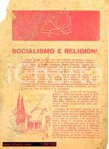 1946 - Costituente - SOCIALISMO e RELIGIONE, PSI