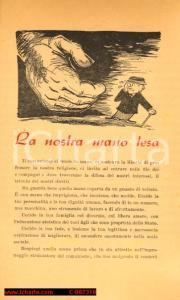 1948 - La mano tesa del COMUNISMO, propaganda DC