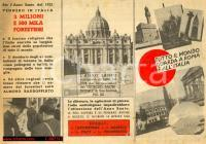 Anno Santo 1950, volantino politico elezioni 1948