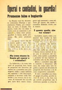 1946 - Referendum, prop. monarchica, Italia Nuova