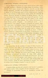 1945 - Mario ROATTA, il PSI protesta per la fuga