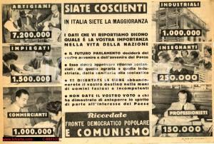 1948 - Fronte Democratico Popolare = COMUNISMO!
