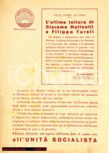 1948 - Unità Socialista contro i comunisti,