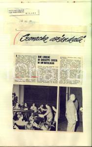 1961 Jusuf Roberto MANDEL e Carlotta RIMINI - Rassegna stampa eventi letterari