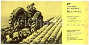 1960 LARDIRAGO (PV) IV Concorso provinciale motoaratura