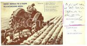 1960 LARDIRAGO (PV) Programma IV Concorso motoaratura
