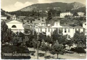 1961 LAGONEGRO (PZ) Istituto tecnico e magistrale D'ALESSANDRO *Cartolina FG VG