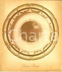 1950 ca NAPOLI IL VESUVIO Menù bordo Società navigazione LAURO LINES *ILLUSTRATO