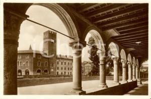 1940 ca VICENZA Piazza XX settembre vista da portico di Palazzo ANGARAN *FP NV
