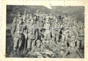 1940 ca WW2 Soldati 4° Reggimento Artiglieria Pesante Campale *Foto di gruppo