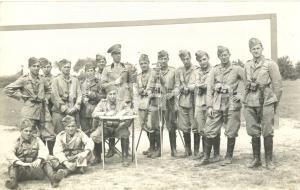 1935 CREMONA 4° Reggimento Artiglieria Pesante Campale in posa con strumenti
