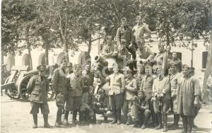 1935 CREMONA Caserma MANFREDINI Soldati 4° Reggimento Artiglieria Campale