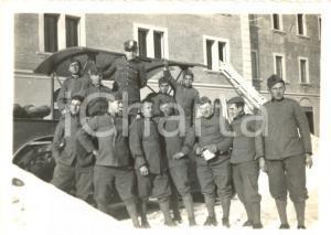 1932 CASTELMAGGIORE (BO) Militari GENIO FERROVIERI Caserma MONTEZEMOLO *Foto