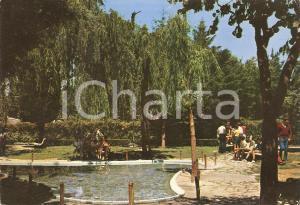 1969 POTENZA Specchio d'acqua al Parco Montereale *Cartolina FG VG