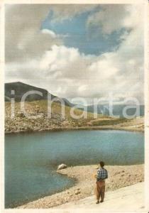 1961 MONTEMONACO (AP) Escursionista al Lago di Pilato *Cartolina FG VG