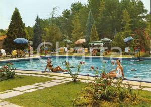 1968 ABANO TERME (PD) Ragazze in posa all'Hotel Molino *Cartolina FG VG