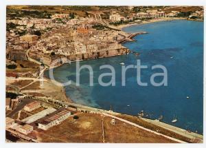 1973 OTRANTO (LE) Veduta aerea del Vecchio Bastione di Sponda *Cartolina FG VG
