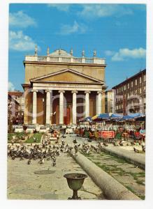 1970 TRIESTE Chiesa SANT'ANTONIO TAUMATURGO Bar COCA-COLA *Cartolina ANIMATA FG