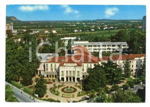 1975 ABANO TERME (PD) Veduta Grand hotel ROYAL OROLOGIO *Cartolina VINTAGE FG VG