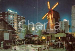 1971 MONTESILVANO MARINA (PE) Riverside con Baby parking PEPSI Cartolina vintage