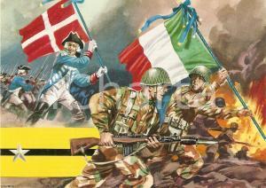 1970 ca BRIGATA ACQUI 17° Reggimento Fanteria *Cartolina ILLUSTRATA FG NV