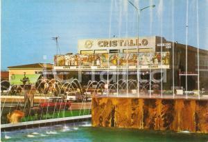 1970 LIDO DI CAMAIORE (LU) Pasticceria Cristallo e fontana luminosa Cartolina FG
