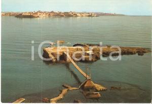 1981 SIRACUSA Camping internazionale e panorama della città *Cartolina FG VG