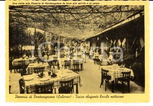 1950 ca PONTECAGNANO (SA) Pizzeria e locale notturno di Edoardo NEGRI *Cartolina