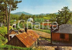 1965 CAMIGLIATELLO SILANO (CS) Veduta di MOCCONE *Cartolina vintage FG VG
