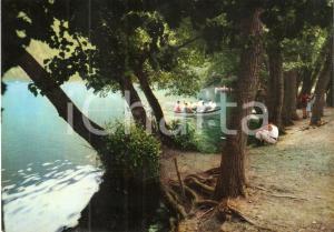 1969 RIONERO IN VULTURE (PZ) Barca sul lago MONTICCHIO *Cartolina FG VG