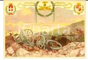 1940 ca 25° Reggimento Artiglieria dell'ASSIETTA *Cartolina ill. LA MONACA FG NV