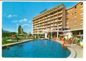1970 ABANO TERME (PD) Piscina termale Hotel LA RESIDENCE Cartolina VINTAGE FG VG