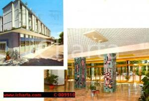 1968 ABANO TERME (PD) Hotel Terme SANAT Vedutine *Cartolina VINTAGE FG VG