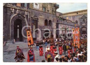 1977 ASCOLI PICENO Torneo Cavalleresco della QUINTANA *Cartolina ANIMATA FG VG