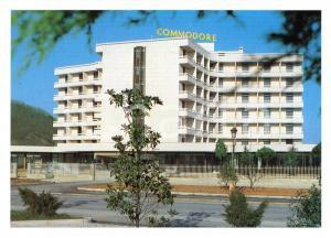 1970 ca MONTEGROTTO TERME (PD) Hotel COMMODORE *Cartolina VINTAGE FG NV