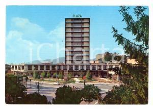 1970 ABANO TERME (PD) Hotel PLAZA *Cartolina postale ANIMATA VINTAGE FG NV