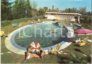 1967 ABANO TERME (PD) Piscina termale Hotel Quisisana *Cartolina FG VG