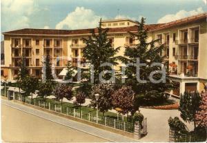 1955 ABANO TERME (PD) Hotel Due Torri *Cartolina FG VG