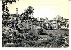 1970 ROMAGNESE (PV) Veduta del paese *Cartolina postale FG VG