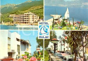 1975 BRENZONE (VR) Hotel DU LAC Vedutine *Cartolina VINTAGE FG VG