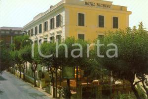 1970 ca FIUGGI FONTE (Frosinone) Hotel TOURING *Cartolina VINTAGE FG NV