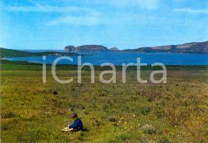 1980 ca ALGHERO (SS) Golfo di Porto CONTE Capo CACCIA *Cartolina ANIMATA FG NV