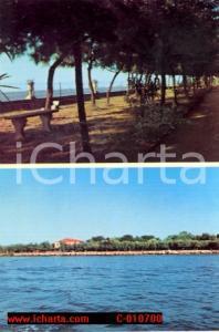 1970 ca CAROMAN Isola di PELLESTRINA (VE) Villaggio Marino CANOSSIANE *Cartolina